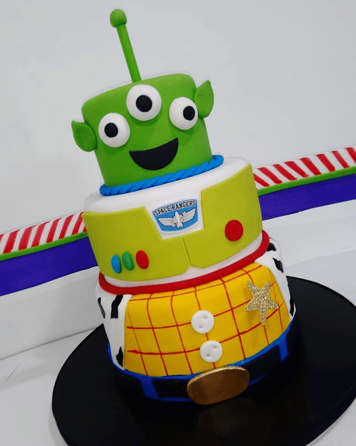 Fascinating Toy Story Cake