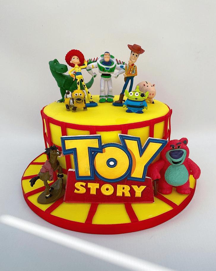 Gorgeous Toy Story Cake