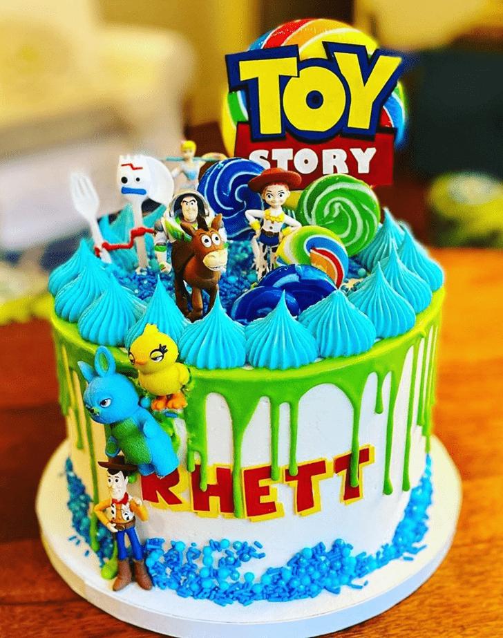 Graceful Toy Story Cake