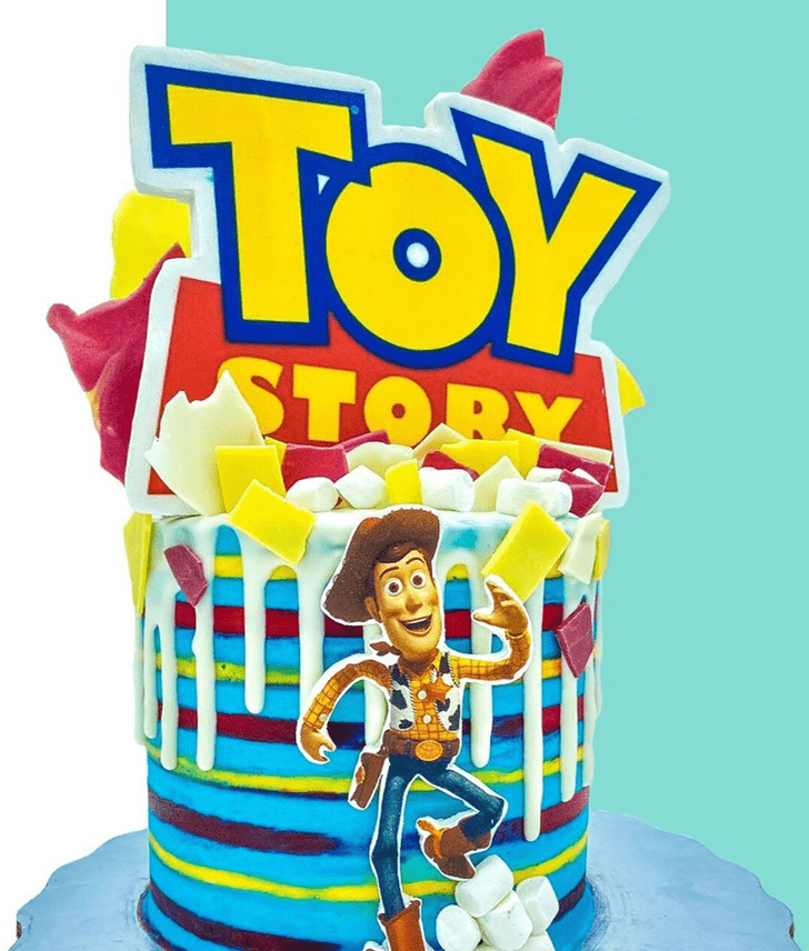 Handsome Toy Story Cake