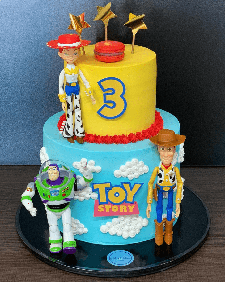 Ideal Toy Story Cake