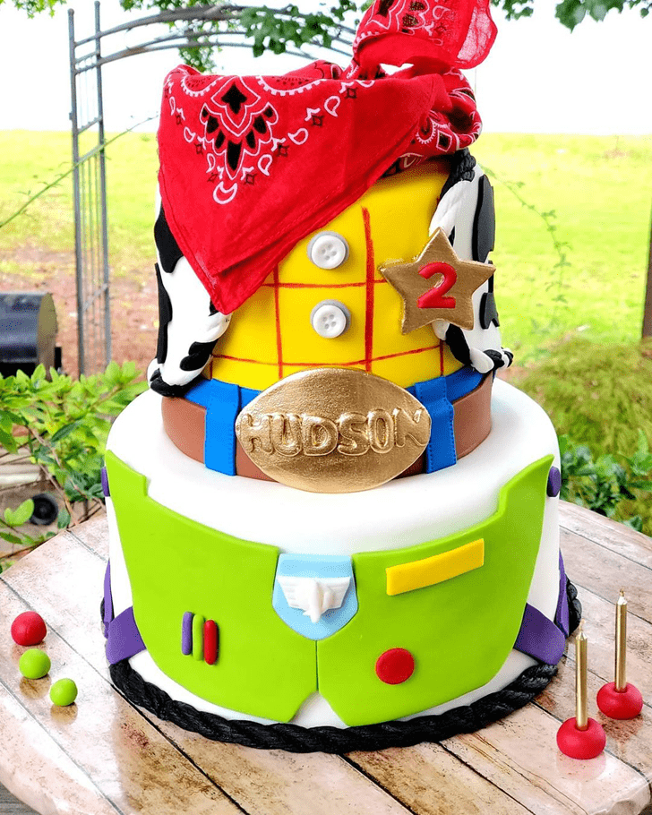 Magnetic Toy Story Cake