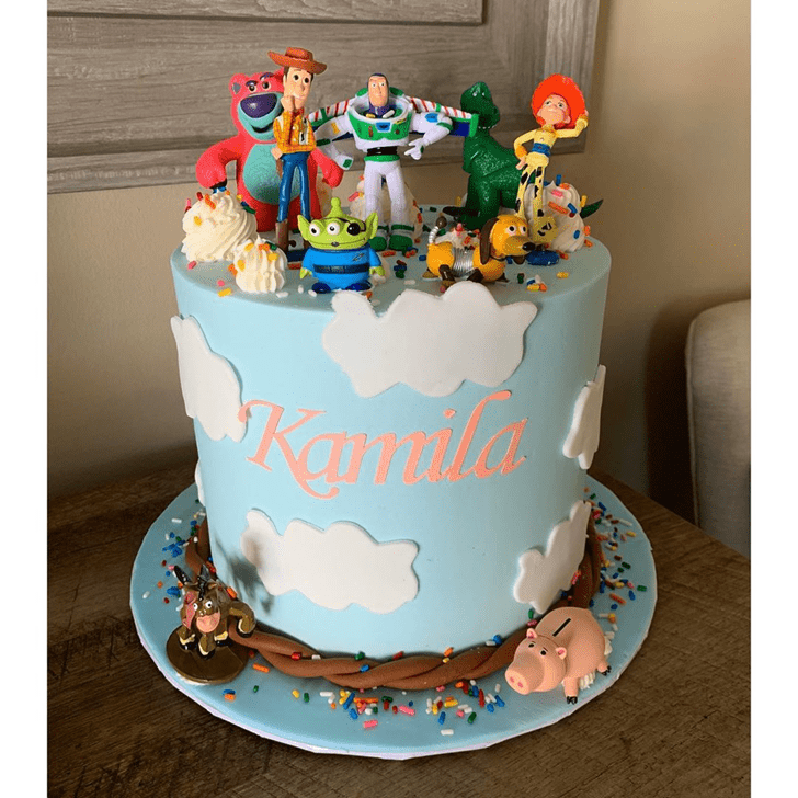 Magnificent Toy Story Cake
