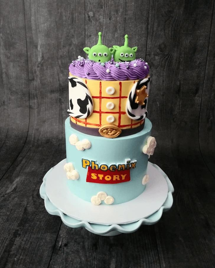 Marvelous Toy Story Cake