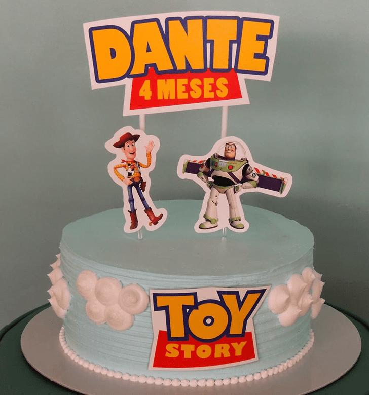 Nice Toy Story Cake