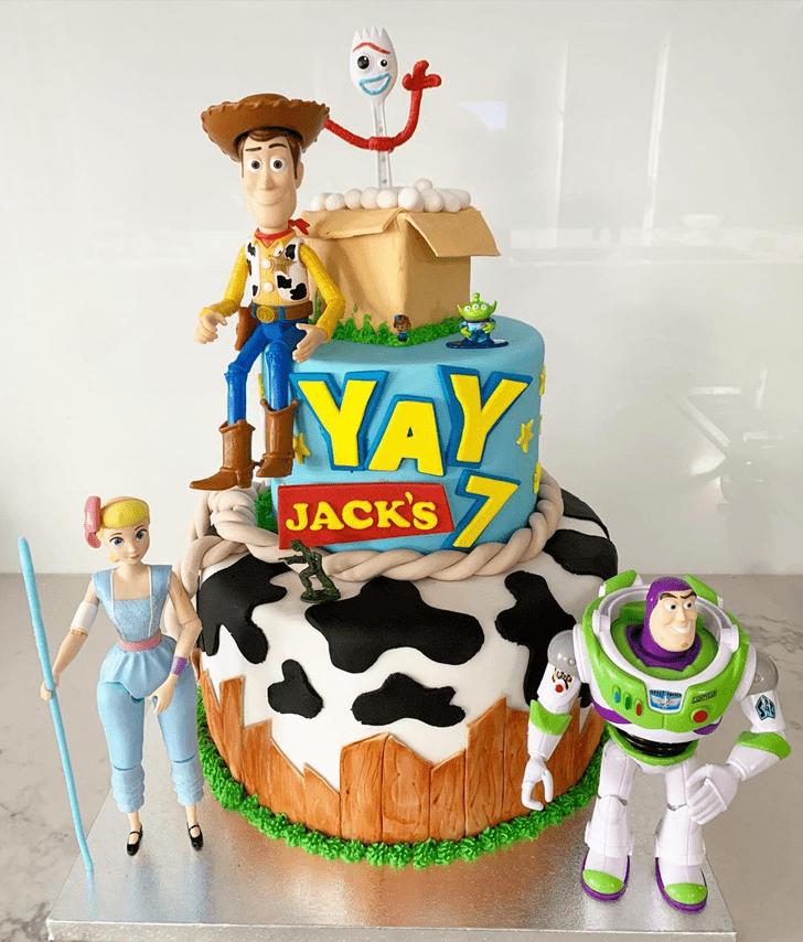 Pleasing Toy Story Cake