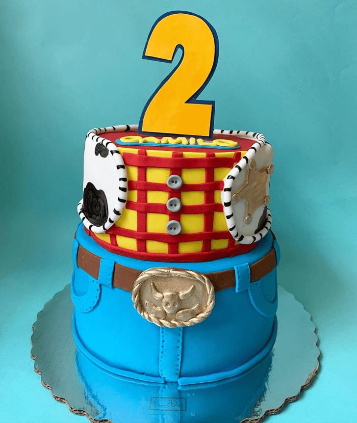 Pretty Toy Story Cake