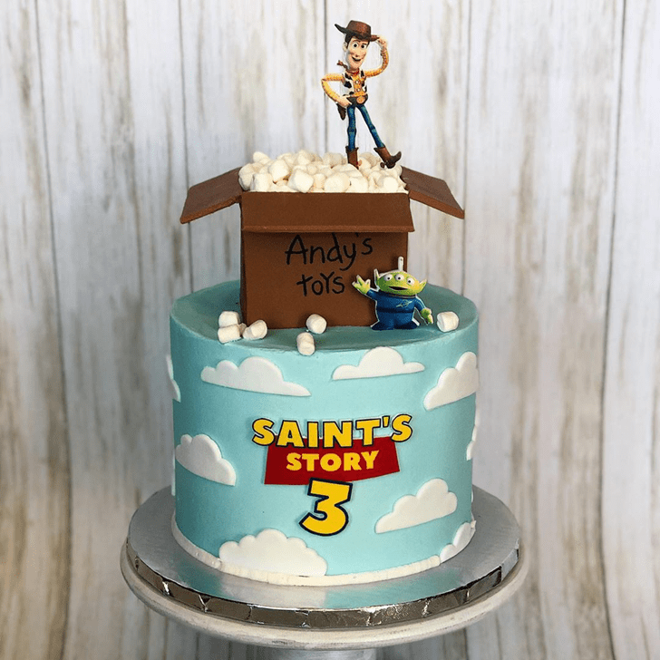 Refined Toy Story Cake
