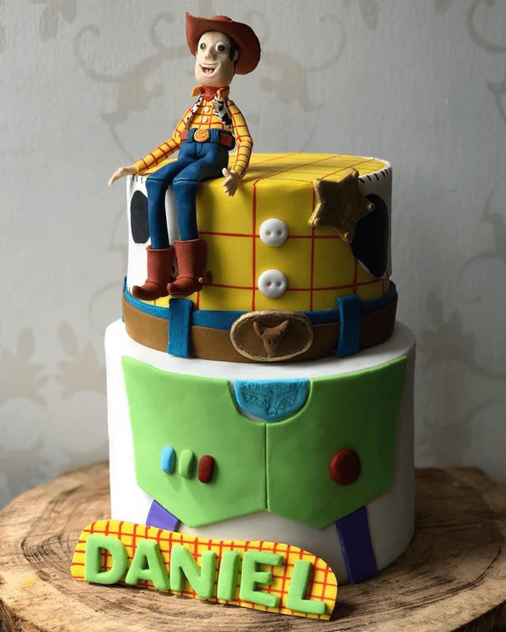 Resplendent Toy Story Cake