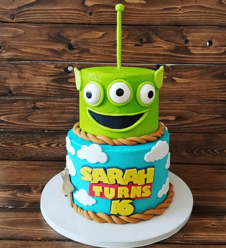 Shapely Toy Story Cake