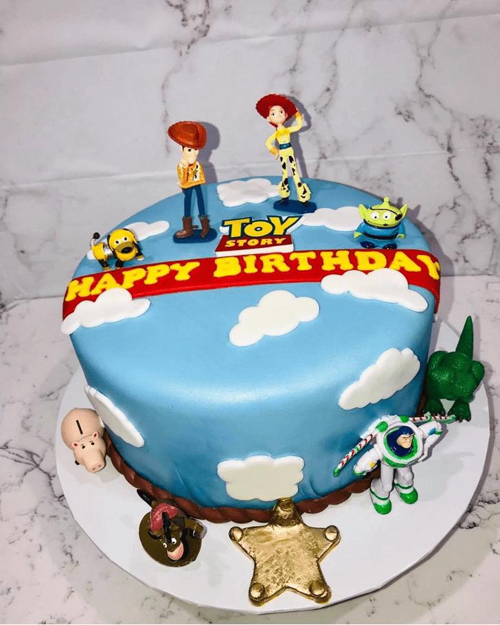 Splendid Toy Story Cake