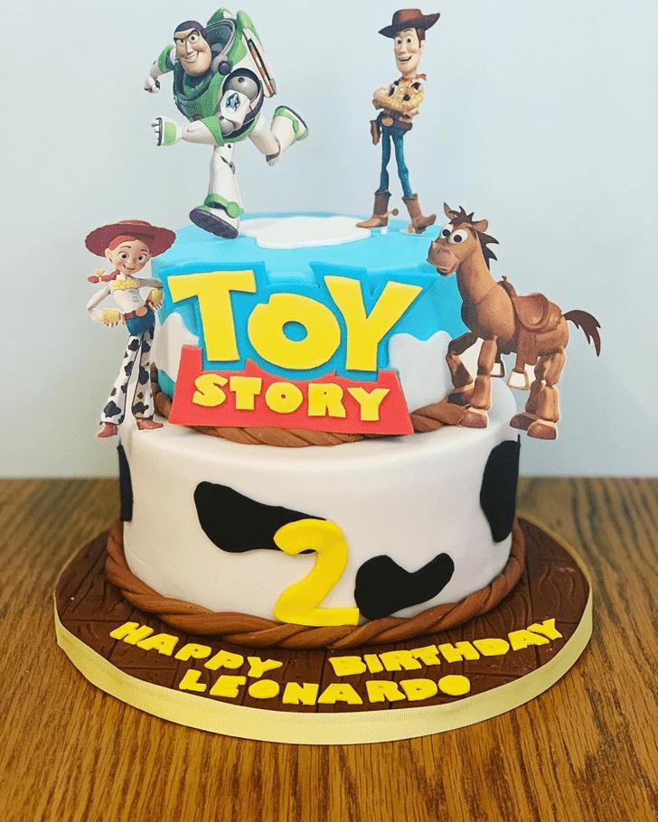 Wonderful Toy Story Cake Design