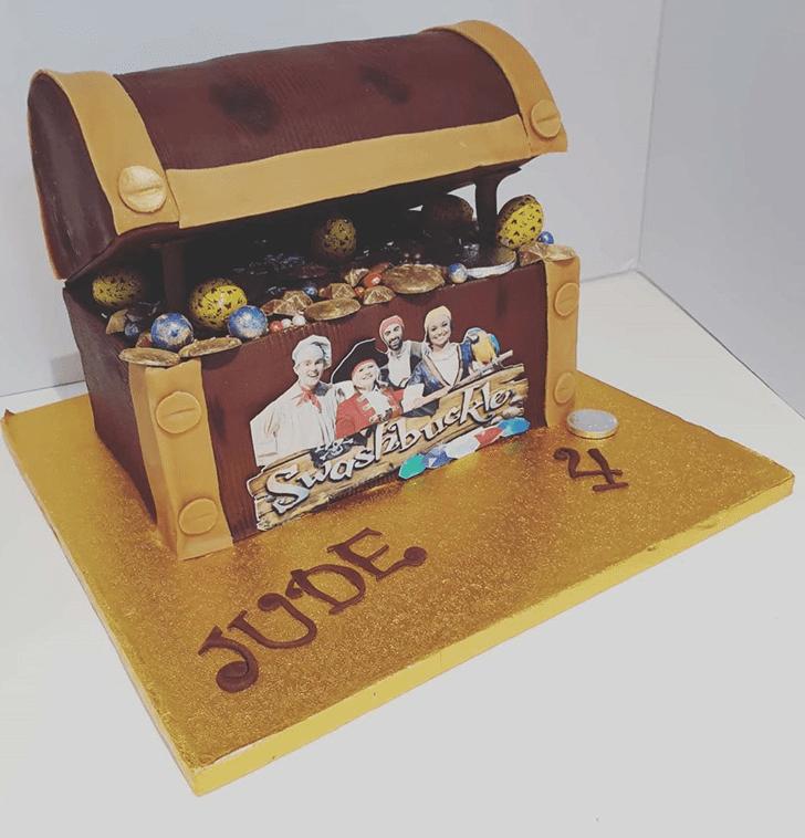 Appealing Treasure Cake