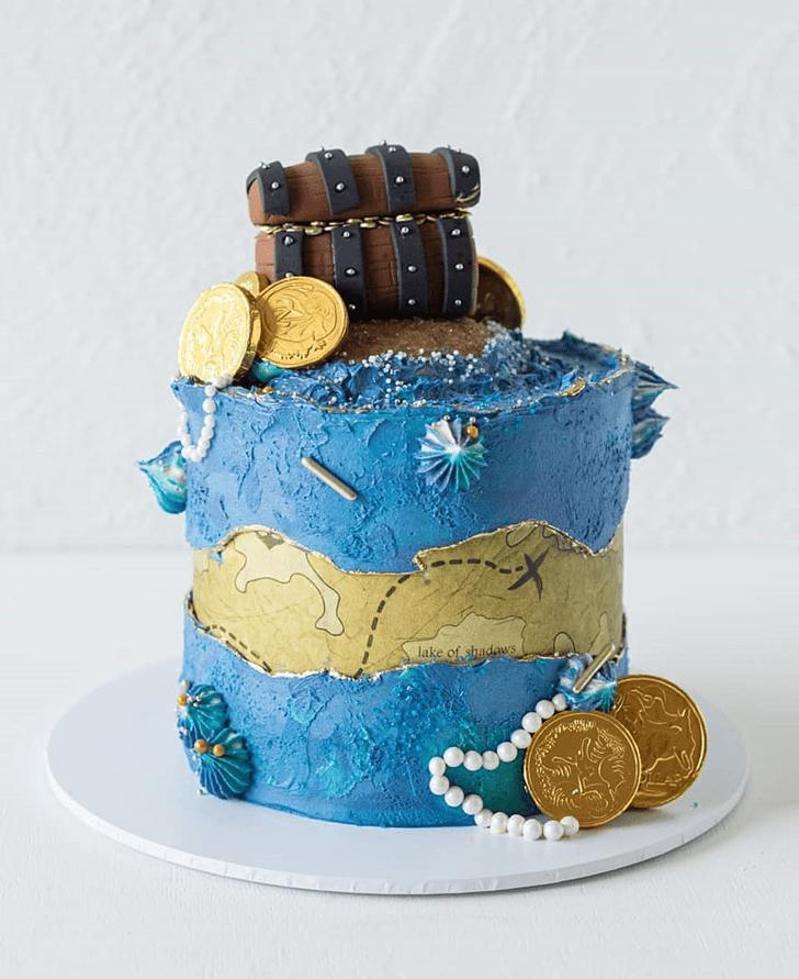 Bewitching Treasure Cake