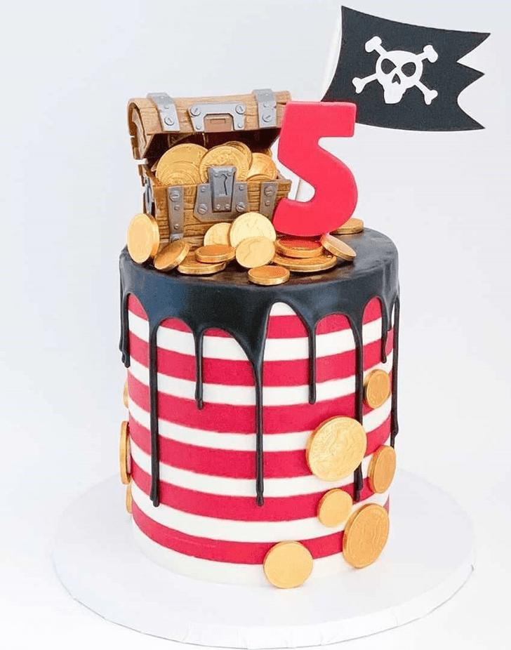 Charming Treasure Cake