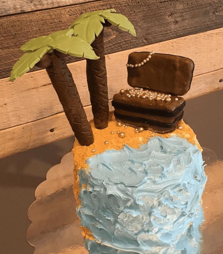 Adorable Treasure Island Cake