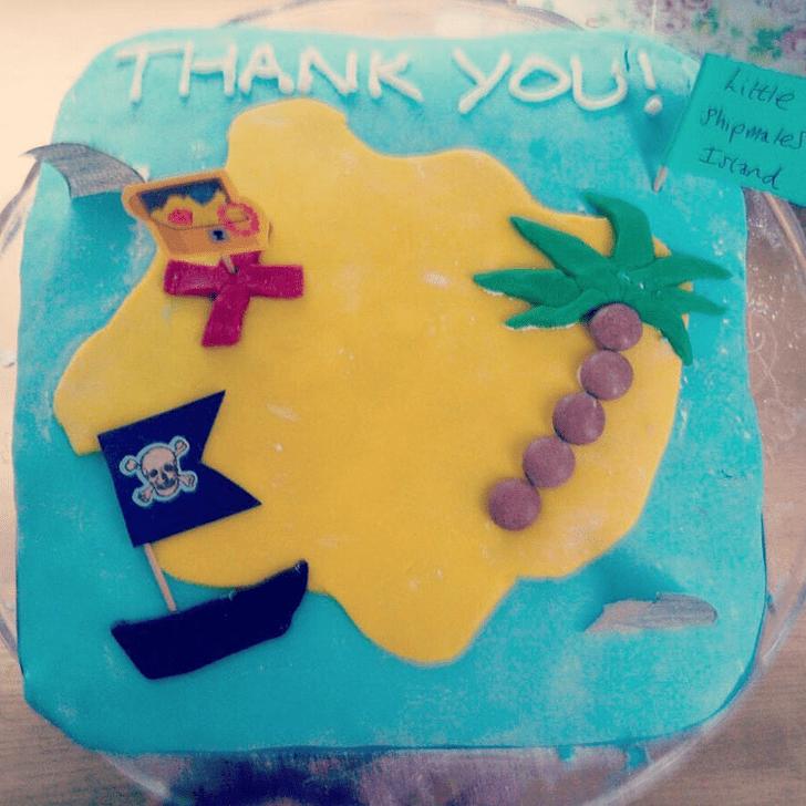 Alluring Treasure Island Cake