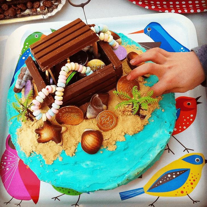 Bewitching Treasure Island Cake