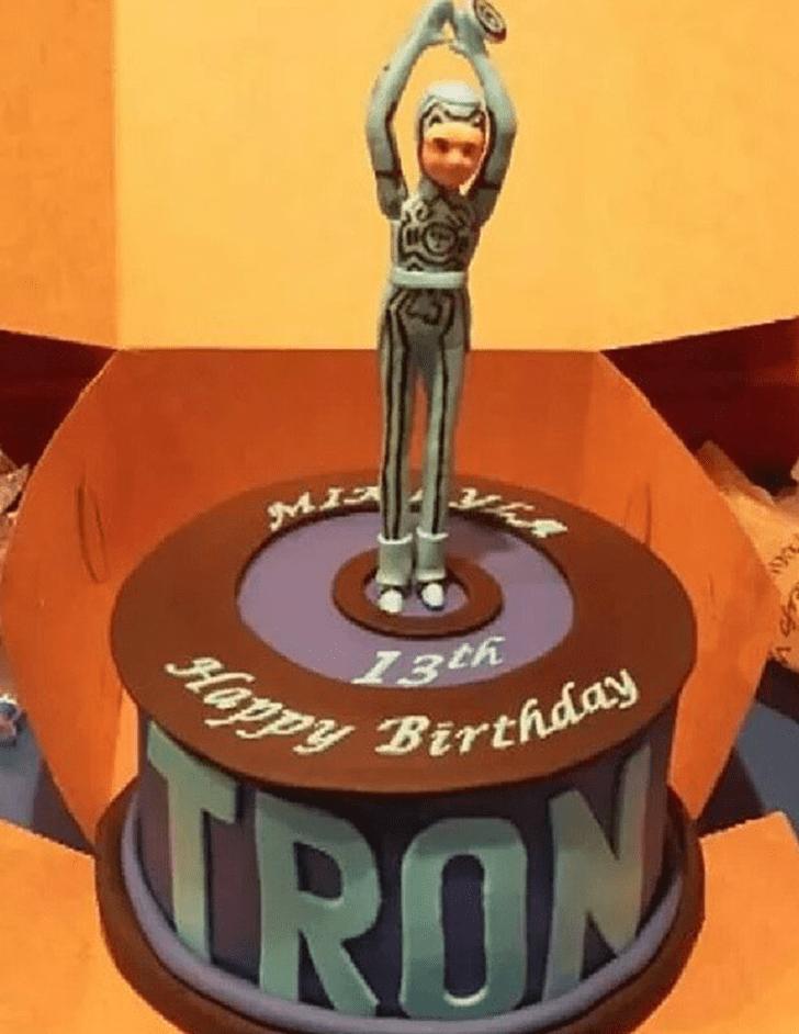 Admirable Tron Cake Design