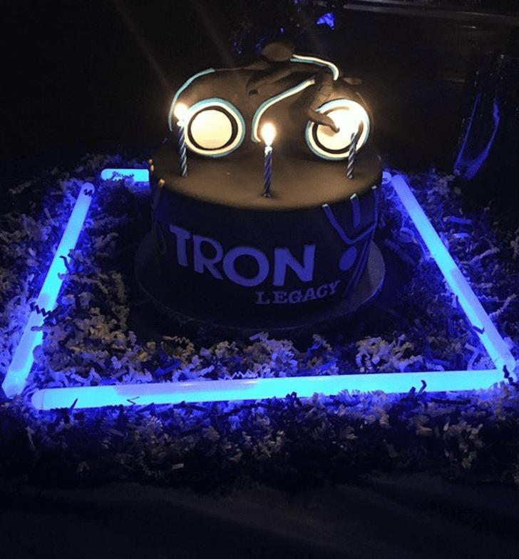 Adorable Tron Cake