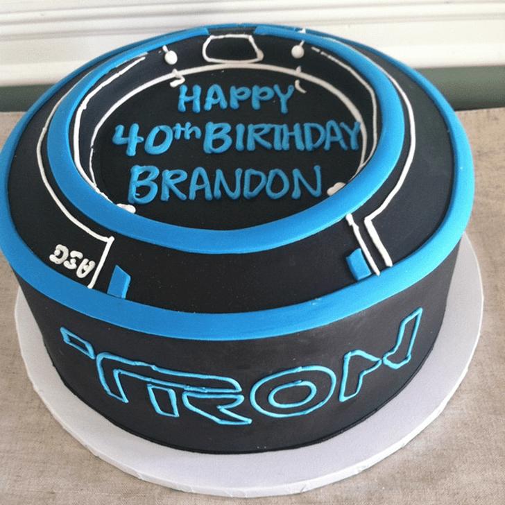 Alluring Tron Cake