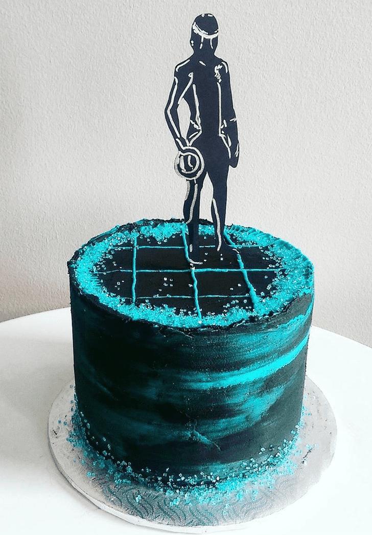 Beauteous Tron Cake