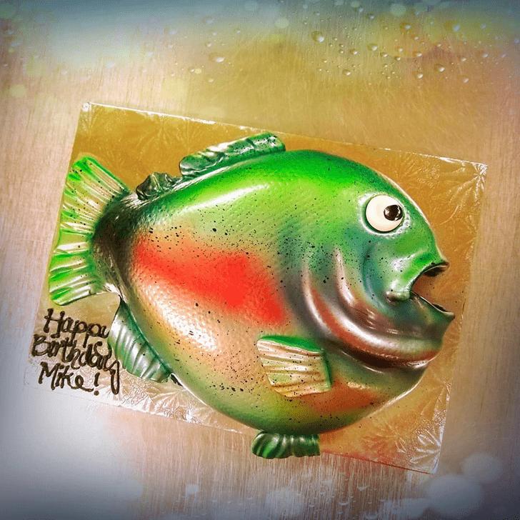 Admirable Trout Cake Design