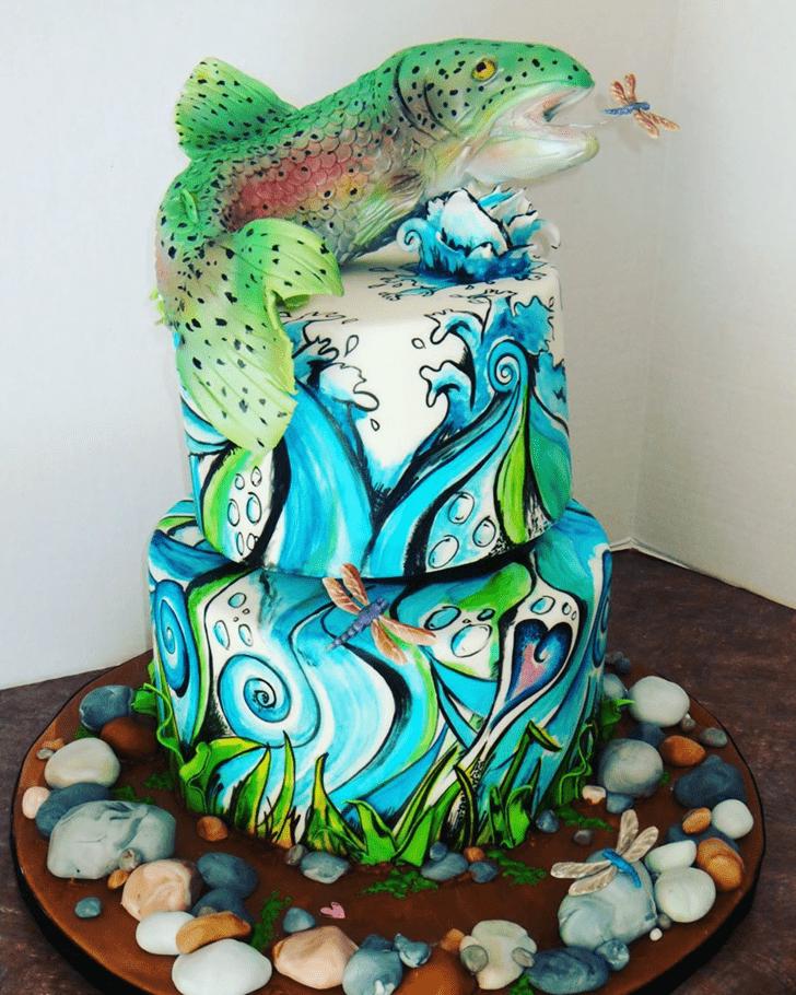 Beauteous Trout Cake