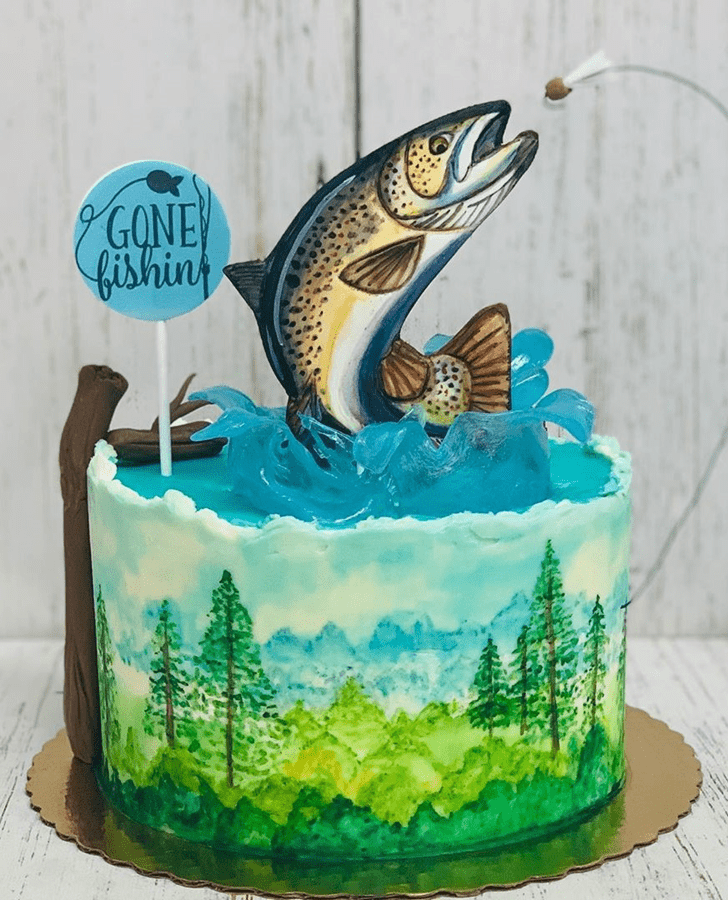 Comely Trout Cake