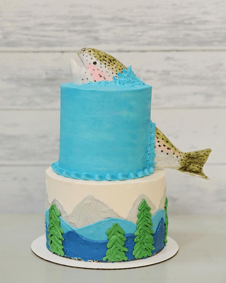 Delicate Trout Cake