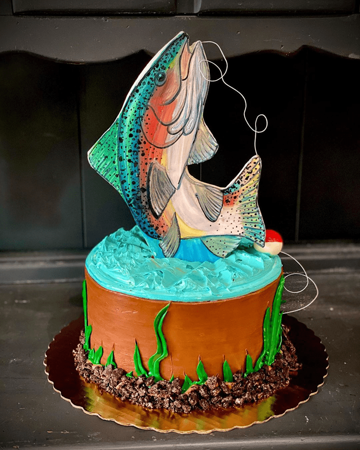 Enthralling Trout Cake
