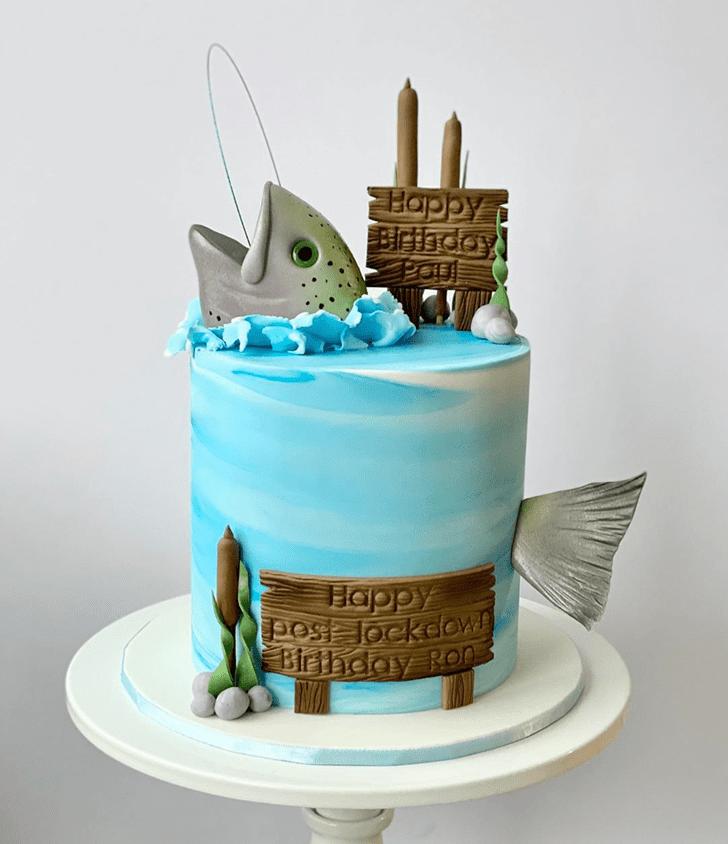 Fair Trout Cake