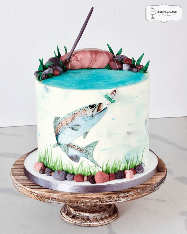 Grand Trout Cake