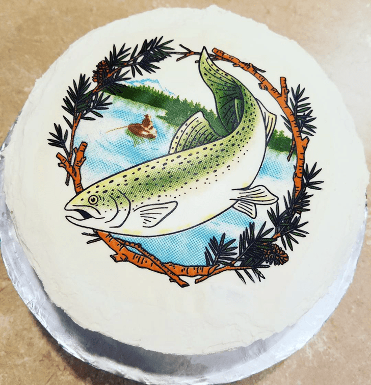 Handsome Trout Cake