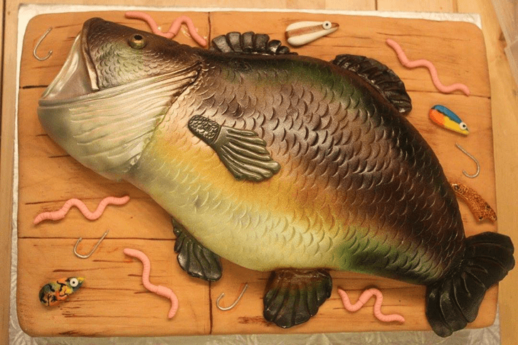 Marvelous Trout Cake