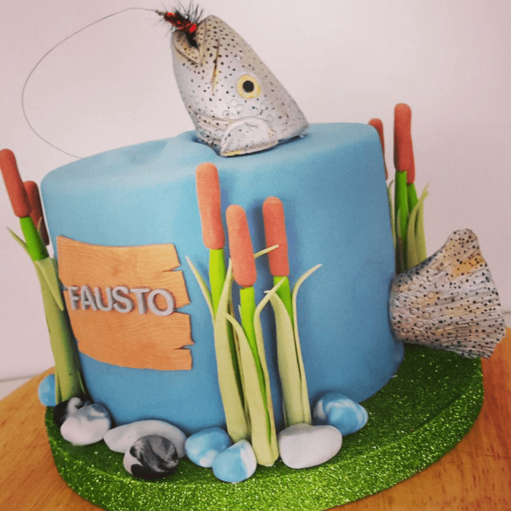 Shapely Trout Cake
