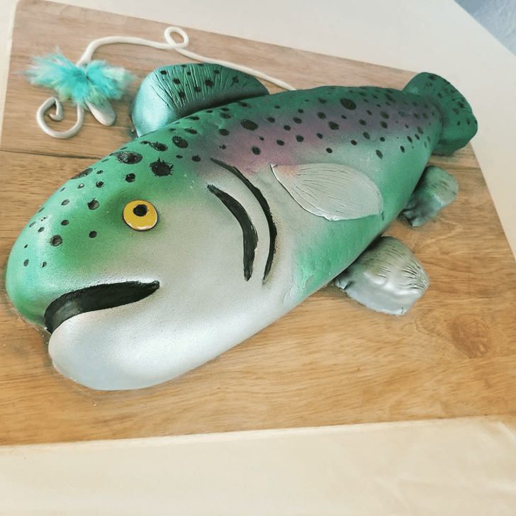 Slightly Trout Cake