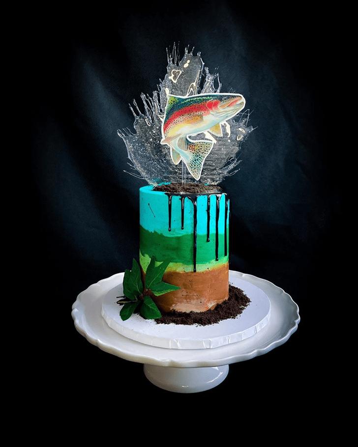 Stunning Trout Cake