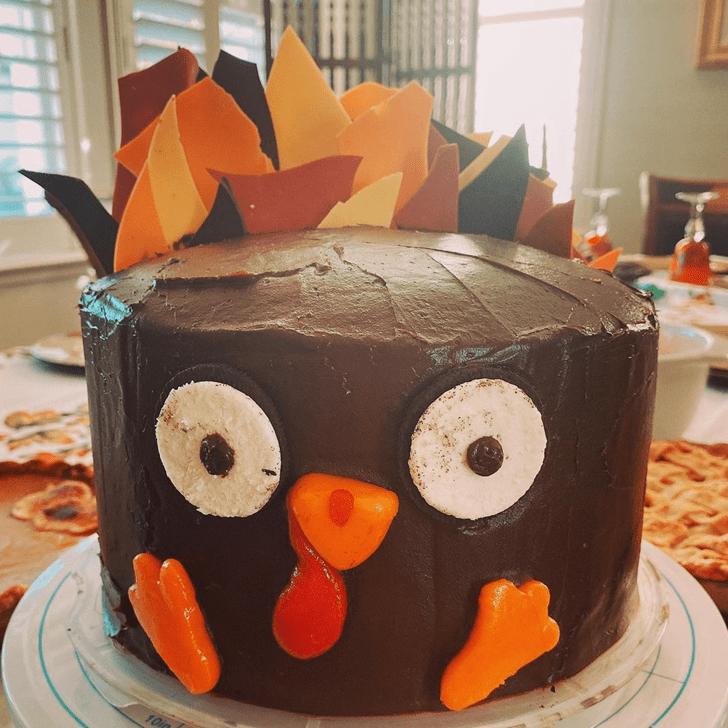 Delicate Turkey Cake