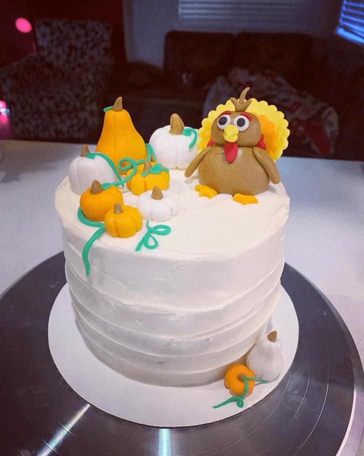 Fascinating Turkey Cake