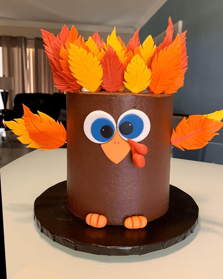 Graceful Turkey Cake