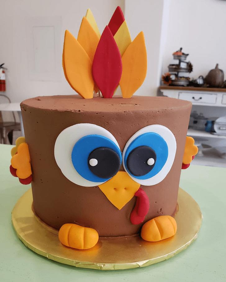 Splendid Turkey Cake