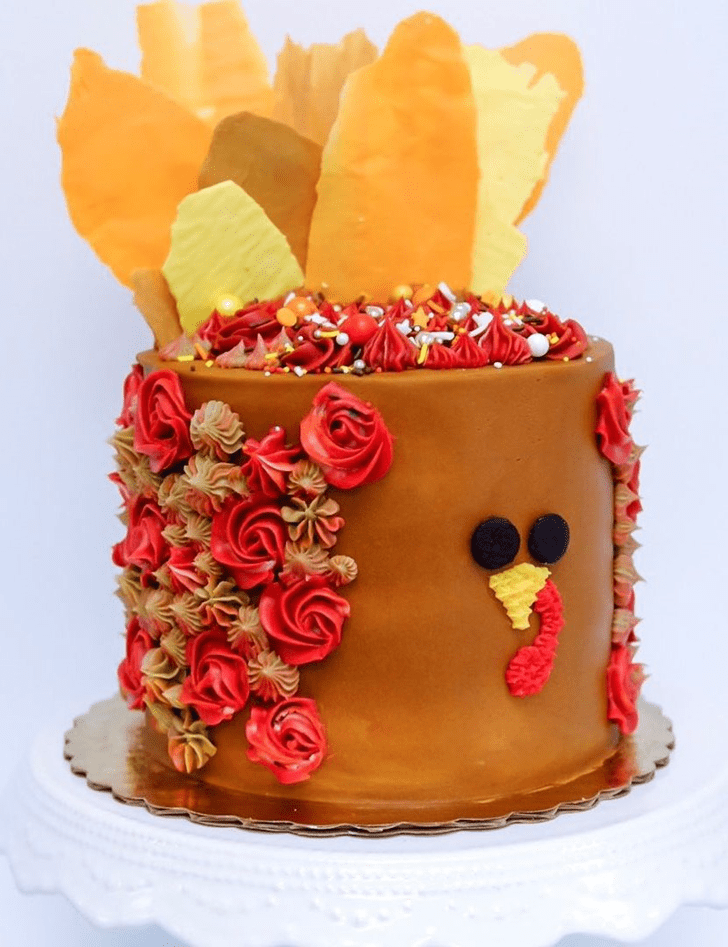 Superb Turkey Cake