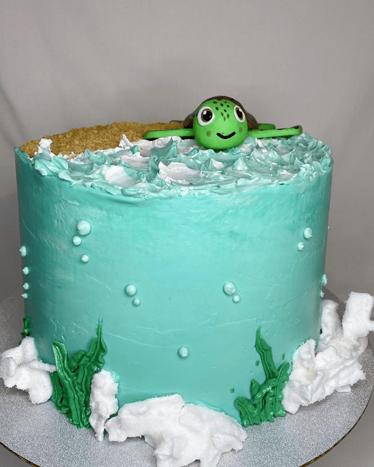 Captivating Turtle Cake