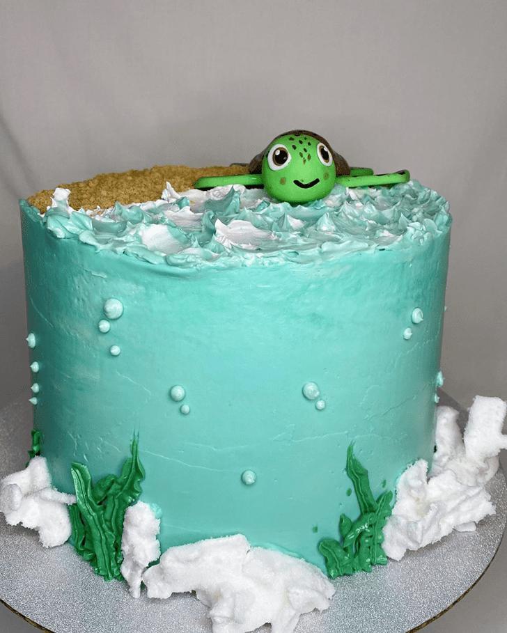 Captivating Turtle Cake