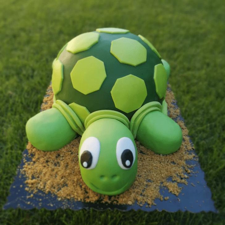 Divine Turtle Cake