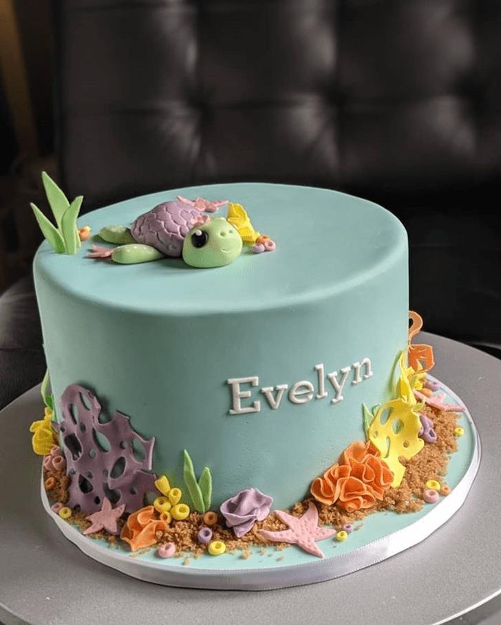 Elegant Turtle Cake