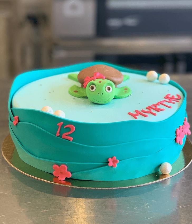 Magnificent Turtle Cake