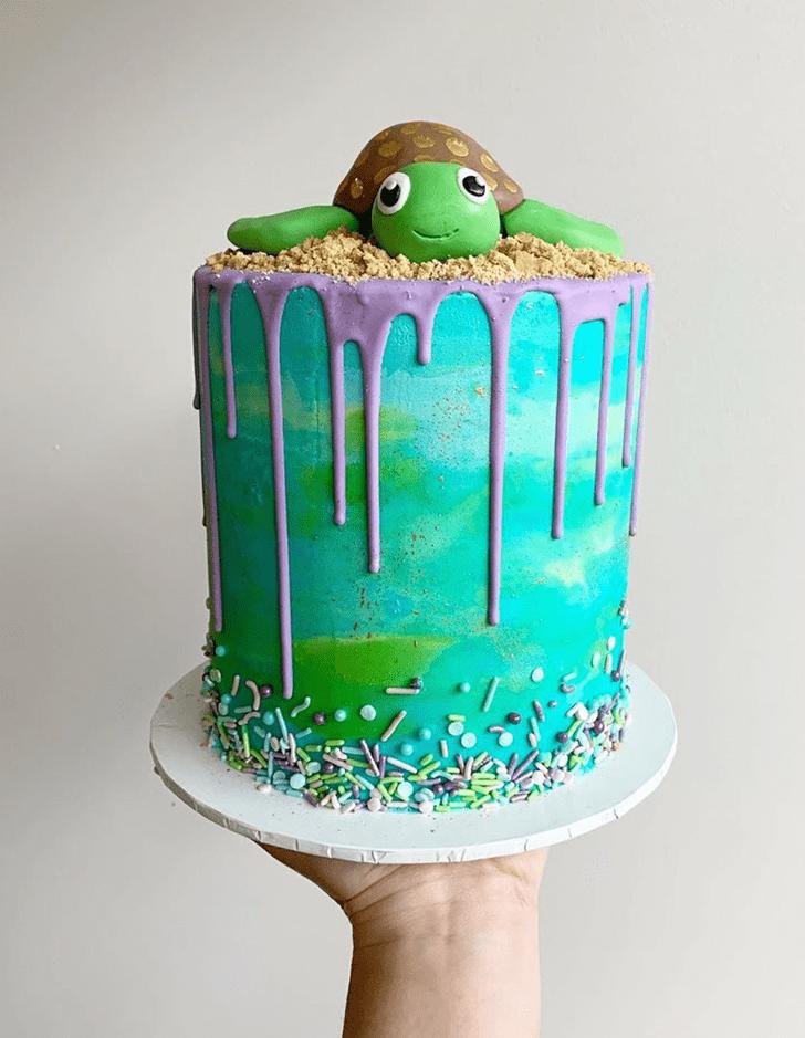 Marvelous Turtle Cake