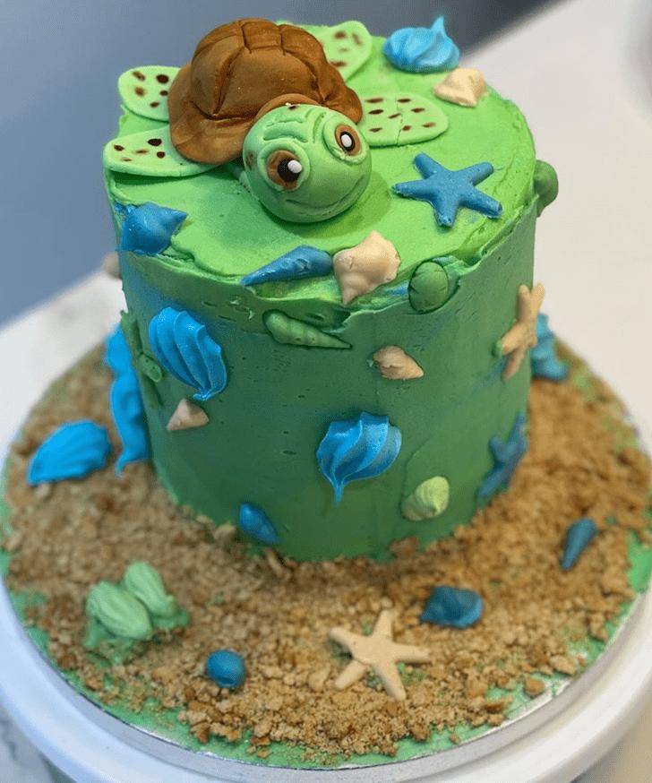 Ravishing Turtle Cake